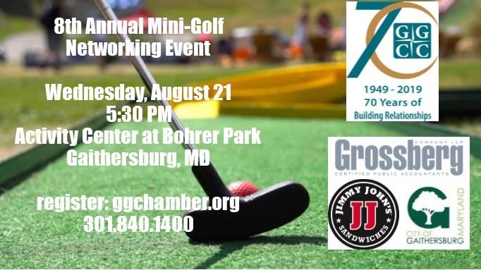 8th Annual Mini-Golf Event - Indoor Games and Activities