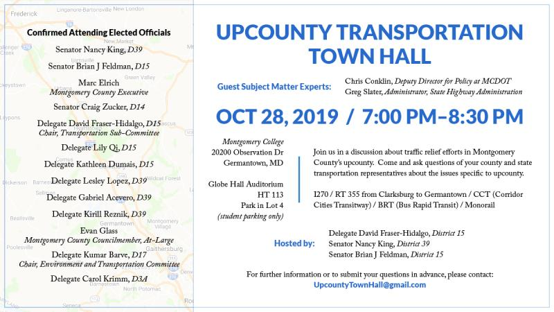 Upcounty Transportation Town Hall